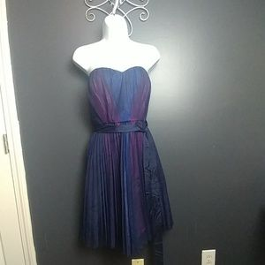 Max and Cleo strapless dress New nwt 10
